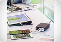 Alimentatore USB Multidevice Caricatore USB da Parete