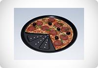 CHG 9776-46 Teglia da forno per pizza