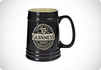 Guinness - Boccale da birra in ceramica