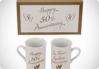 tazze per lanniversario dei 50 anni di matrimonio