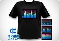 LED Shirt Equalizer