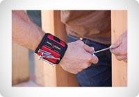 MagnoGrip braccialetto magnetico per fai da te e mestieri