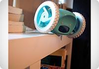 NANDA Radiosveglia con rotelle Clocky