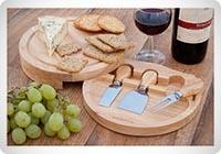 OccasionTM Housewares - Tagliere per formaggi rotondo