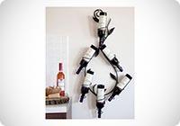 Scaffale per vini