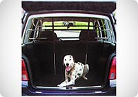 Separatore telescopico per trasporto cane