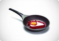 Stampo per uovo fritto Sole