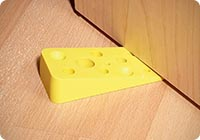 Swiss Cheese Door Wedge