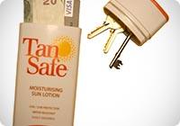 TanSafe - Portable spiaggia sicura