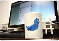 Tweetmug - La tazza di Twitter