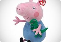 Ty Peppa Pig Beanie Buddy George