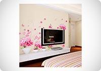 UfingoDecor Romantico Rosa Fiori di Ortensia