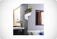 Vaso per piante a muro Design