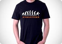 t-shirt basket evolution evoluzione pallacanestro
