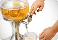 Distributore dispenser birra e bevande refrigerate a forma di Bolla