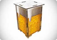 Sgabello Birra
